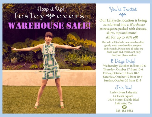 Lesley Evers sale