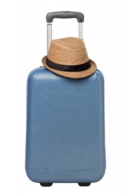 carryon with hat