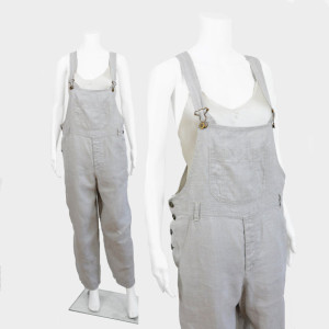 My linen overalls.  I hated to get rid of them.