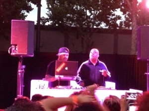 Rev Run at closing party