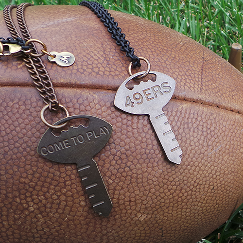 49ers Foundation 'Key to the Stadium'