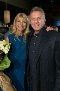 Jennifer and Joe Montana